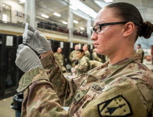 Um terço dos militares norte-americanos recusa a vacina