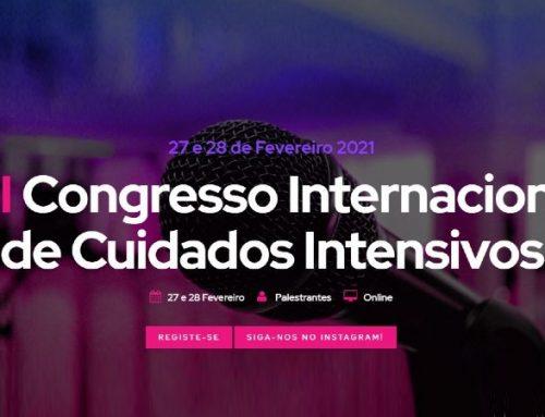 """VII Congresso Internacional de Cuidados Intensivos com o lema """"E de Repente tudo Mudou…"""""""