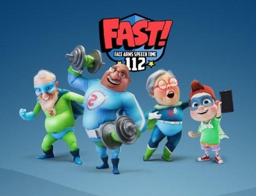 """Campanha """"Fast Heroes 112"""" quer sensibilizar um milhão de crianças para o risco de AVC"""
