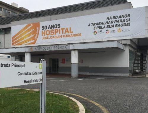 Hospital de Beja regista primeiro dia sem internamentos por Covid-19 em seis meses