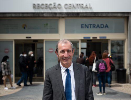 """Entrevista ao presidente do Santa Maria. """"Pico da terceira vaga foi o maior desafio da minha carreira"""""""