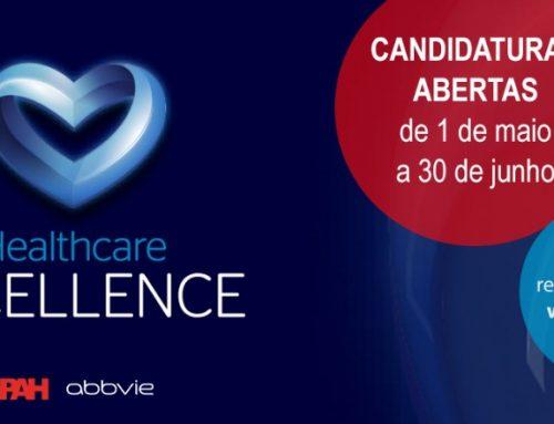 Candidaturas abertas para o Prémio Healthcare Excellence 2021